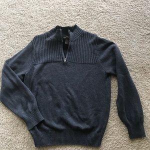 Men's Dockers Pullover Quarter Zip Sweater